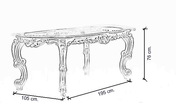 Tavolo da pranzo Finlandia outdoor/ esterno 454 - Oscar Italia